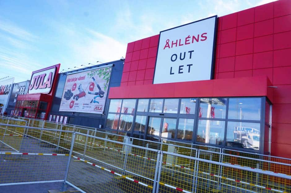 Åhlens outlet Västerås