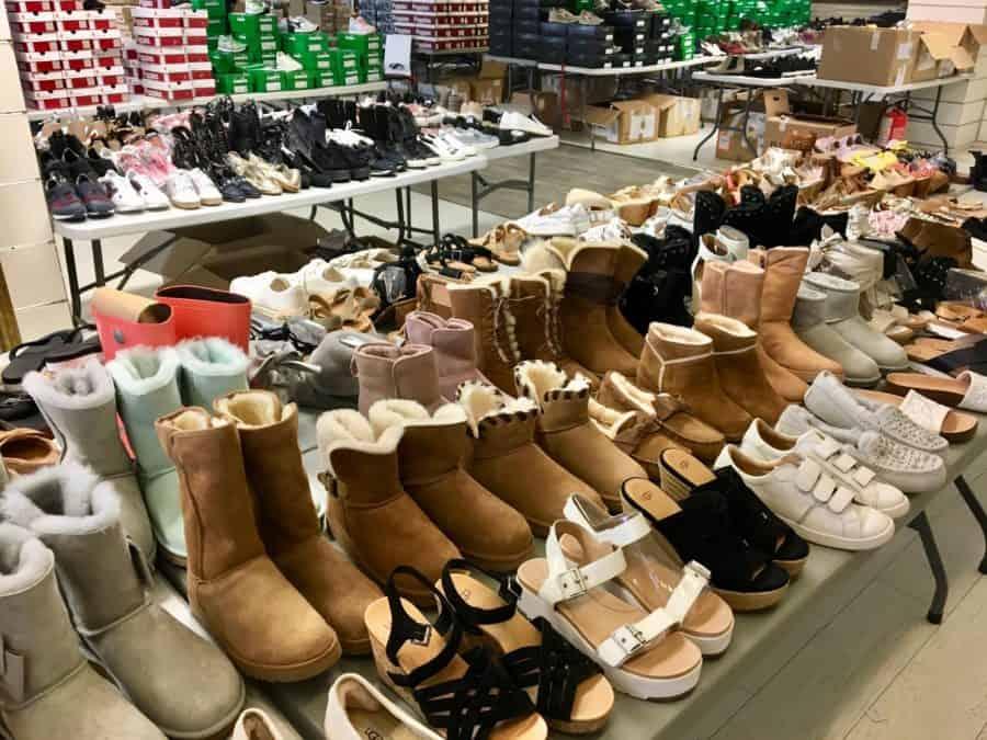 Outletbutiken i Stockholm