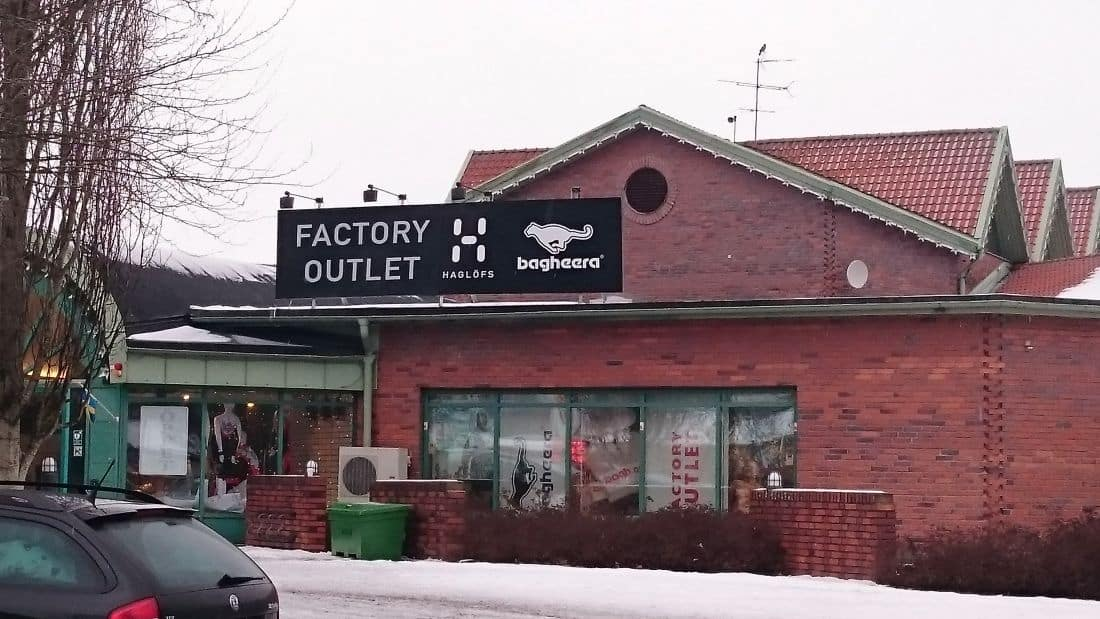 Haglöfs factory outlet